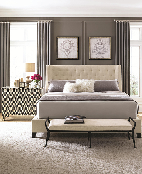 Maxime Upholstered Bed at Belfort