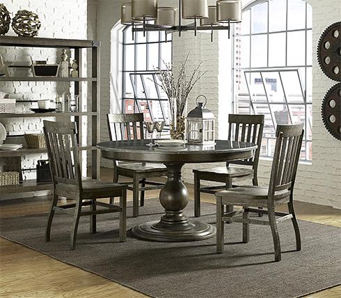 Karlin Bluestone Table at Belfort
