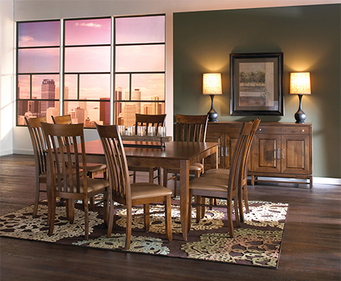 Canadel Square Dining Table