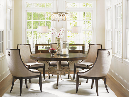 Tower Place Round Dining Table