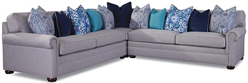 7169 Sectional by Huntington House