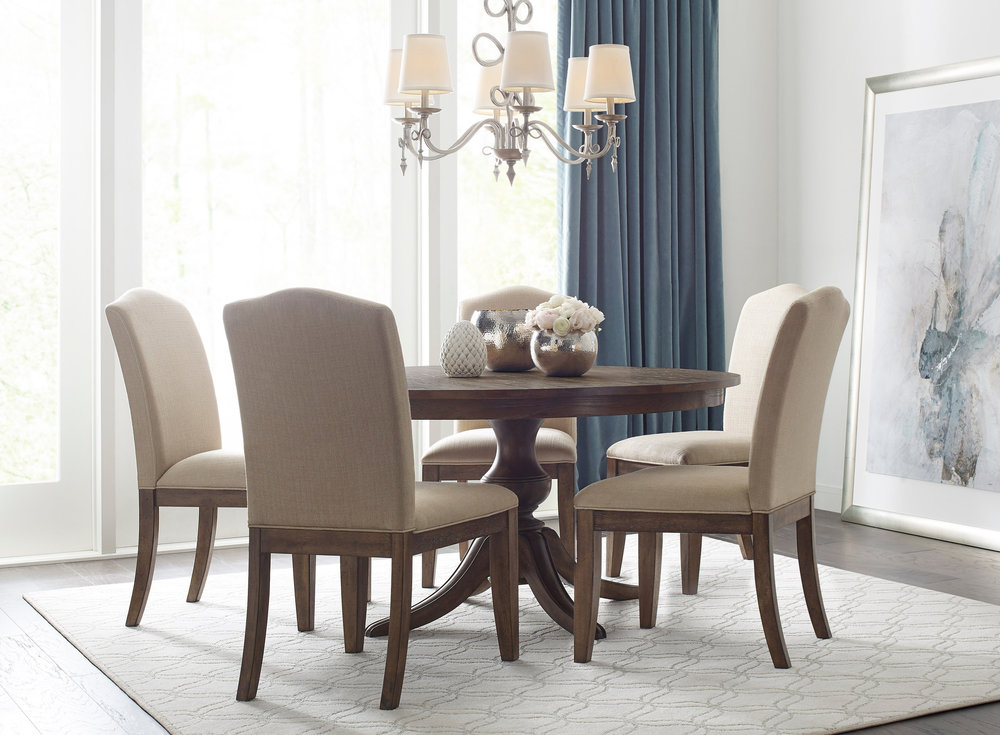 Dining Table Because Every Top Features Kinguard Protective Finish To Help Guard Against Spills Scratches Plus The Chairs Are Upholstered In