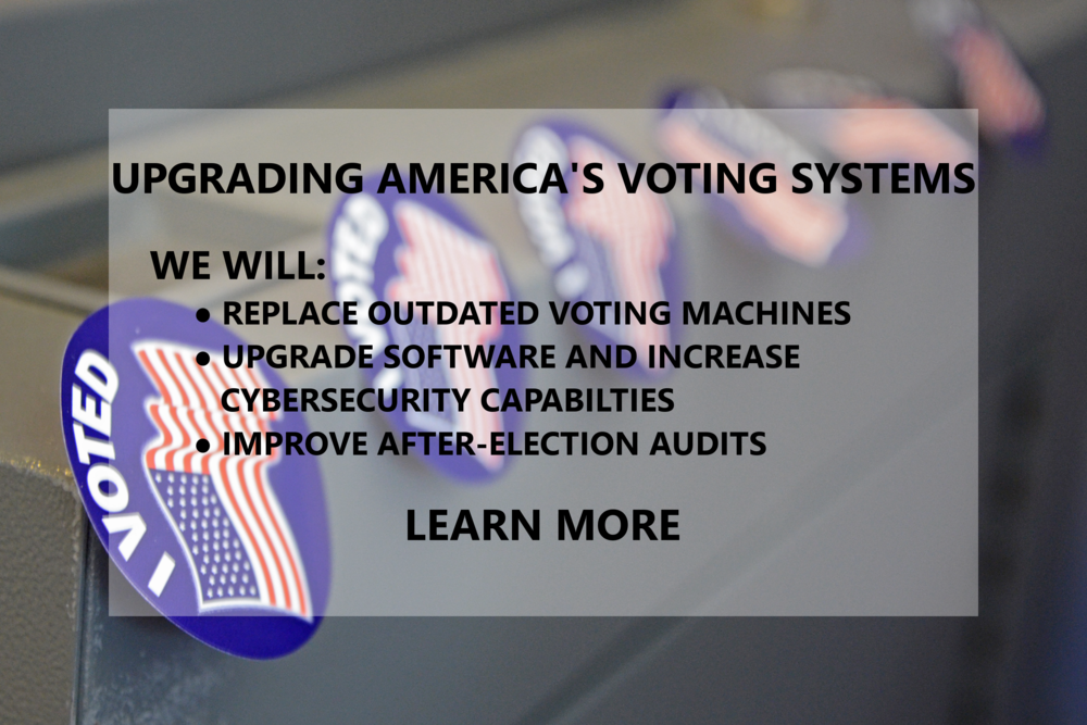 Upgrading America's Voting Machines