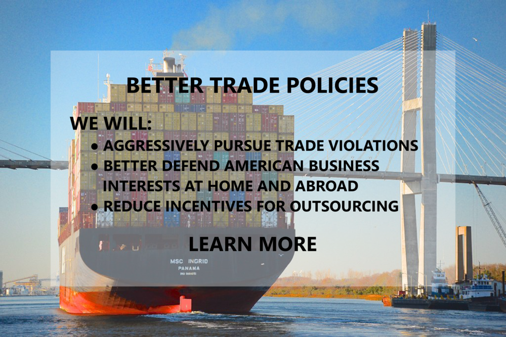 Better Trade Policies