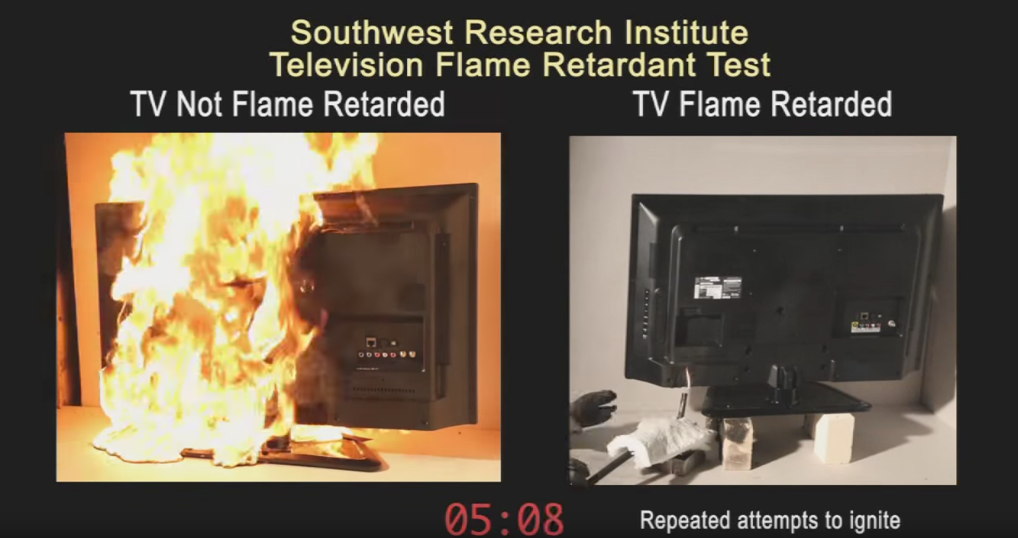Television Fire Safety