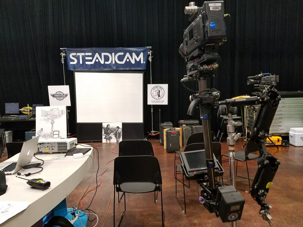 Steadicam Training 2