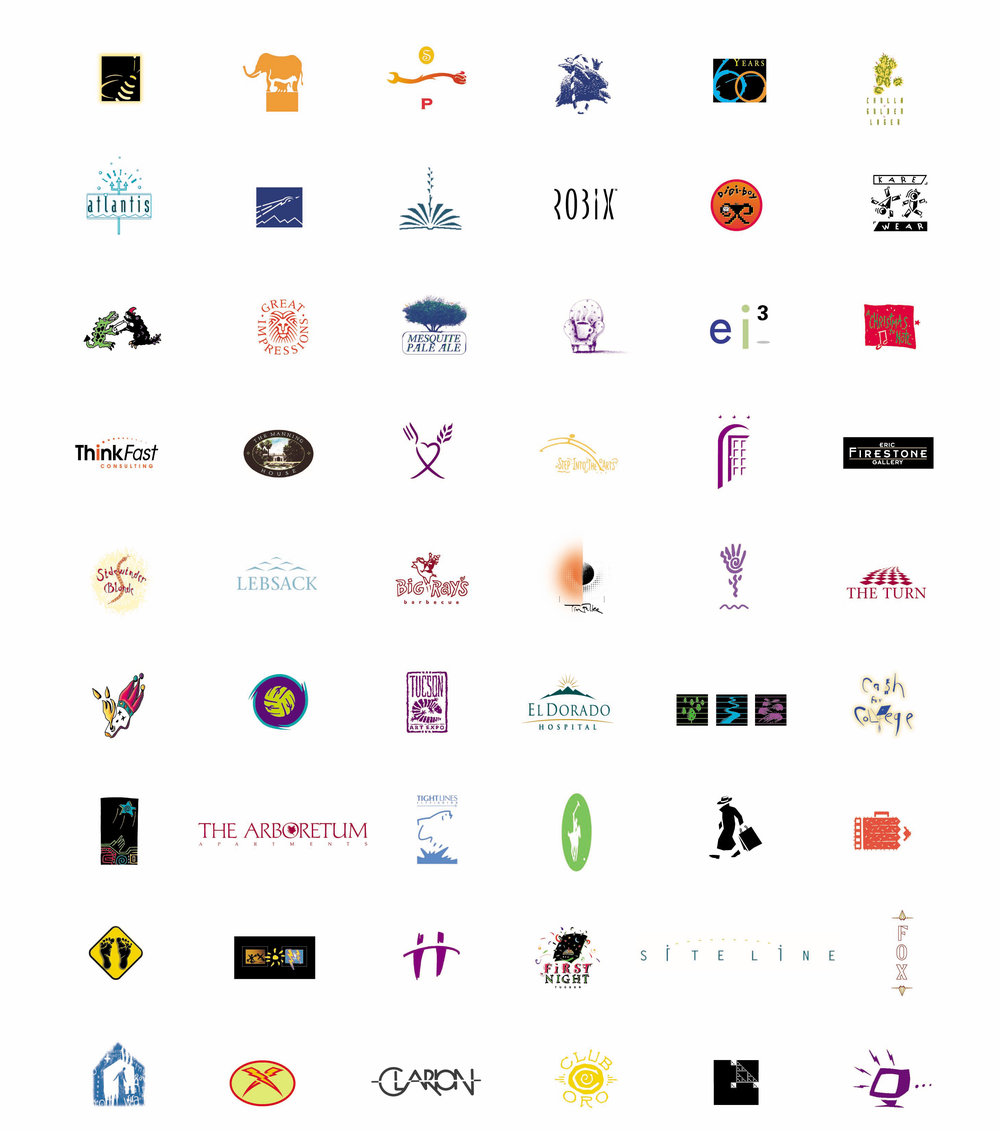 Logos created for a variety of companies and organizations