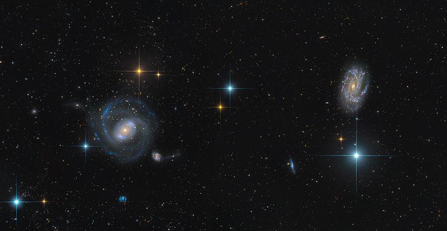 NGC 4151 + NGC 4145 - Hansonl.jpg