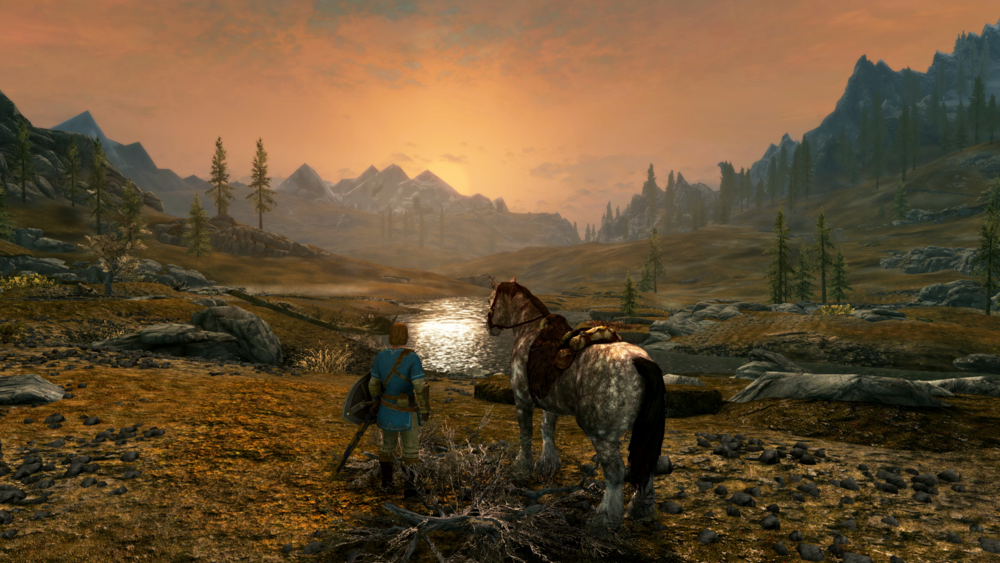 The Elder Scrolls V: Skyrim - It's Skyrim -- again -- except everywhere.