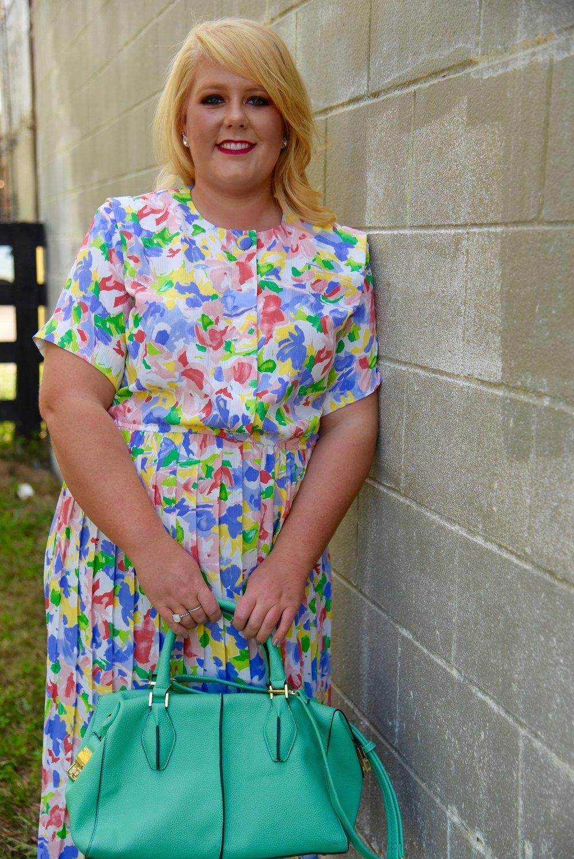 Floral Vibrant Dress