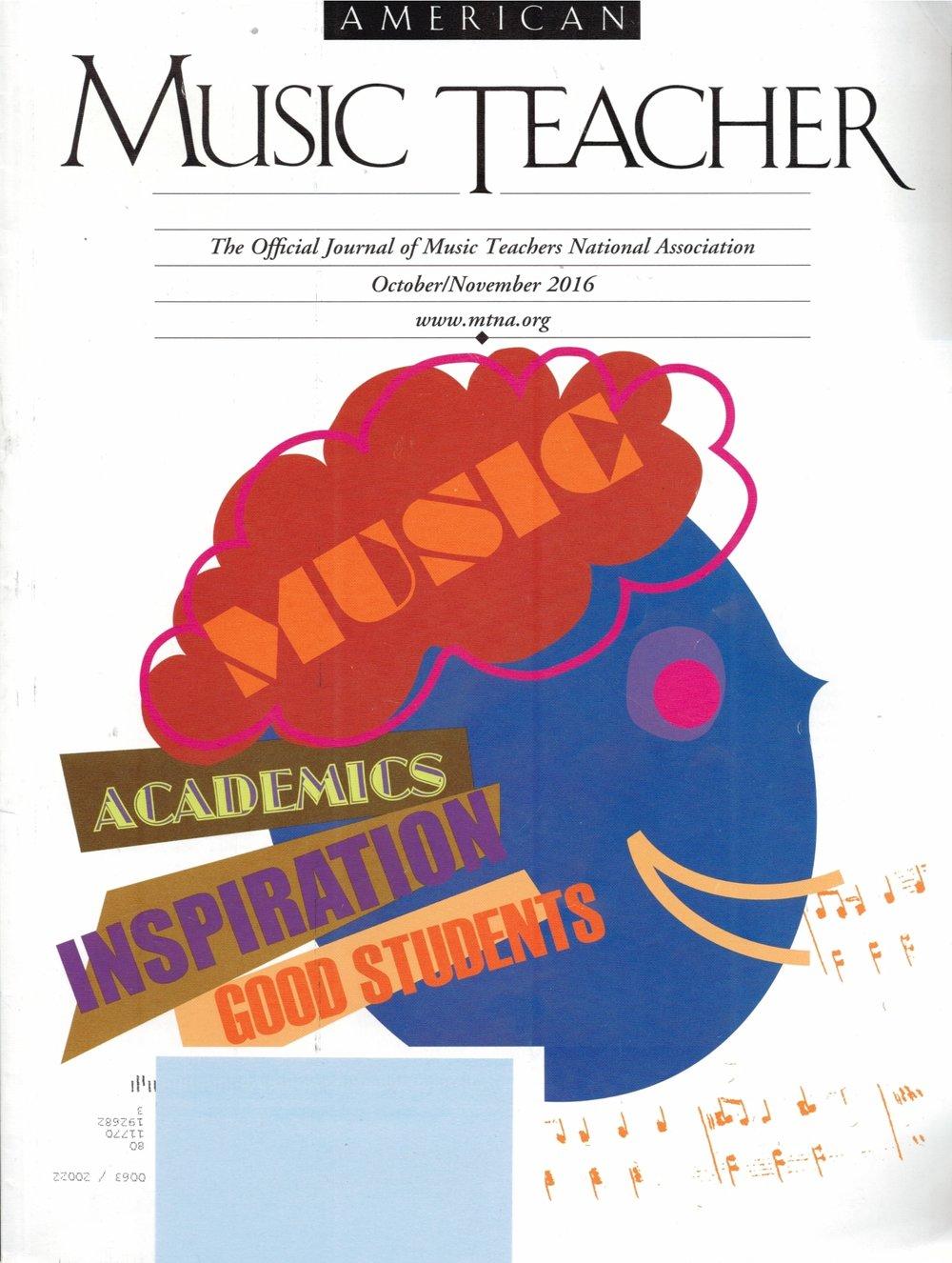 Bela Bartok: 10 Easy Piano Pieces - American Music Teacher magazine (October/November 2016, pp. 51-52)