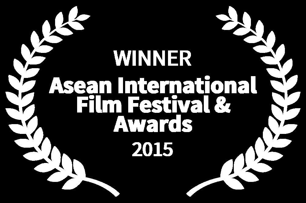 WINNER - Asean International Film Festival  Awards - 2015.png