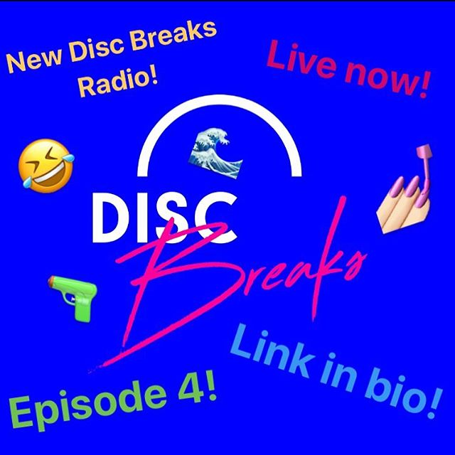 New episode of Disc Breaks Radio is online and available through all good outlets. Join the casual conversation revolution now - link in bio. #Discbreaksradio