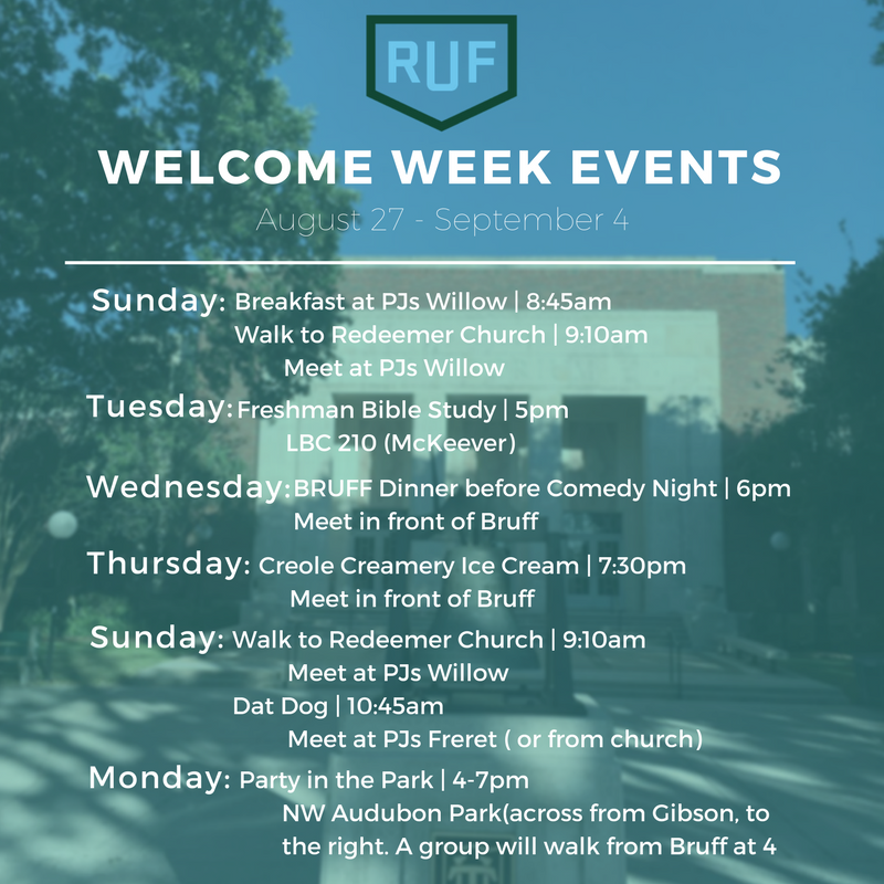 RUF welcome week 2017.PNG