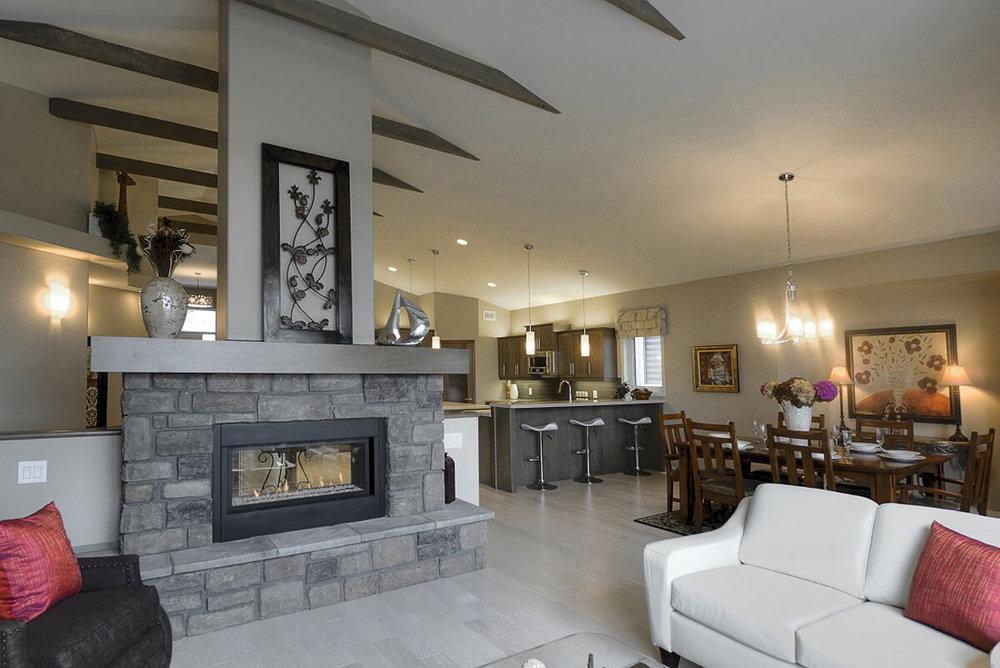 06-2114sqft_Emerald ii_Great Room Fireplace_Bungalow_Bridgwater Lakes.jpg