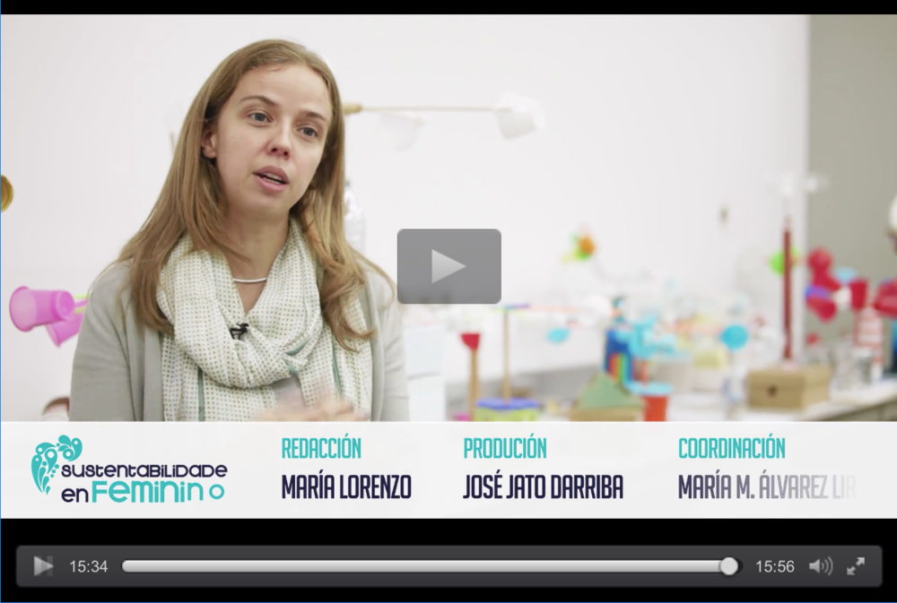 Interview about being a woman in Science, University of Vigo, Spain.