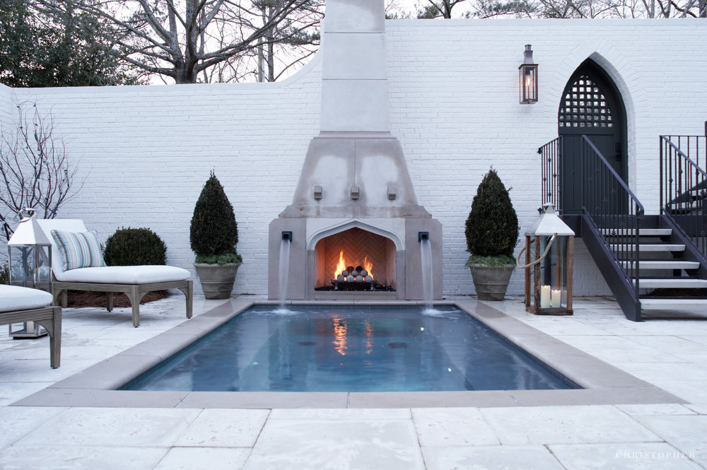 Transitional Estate - cocktail pool