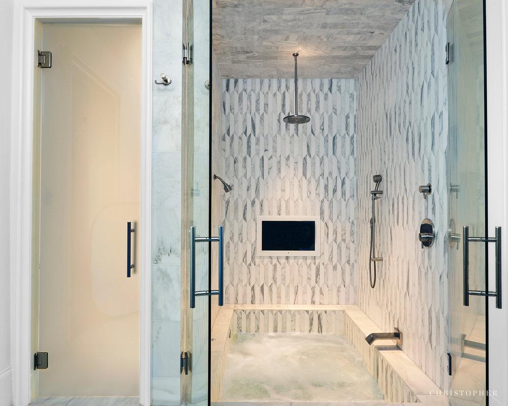 Transitional Estate - bathroom