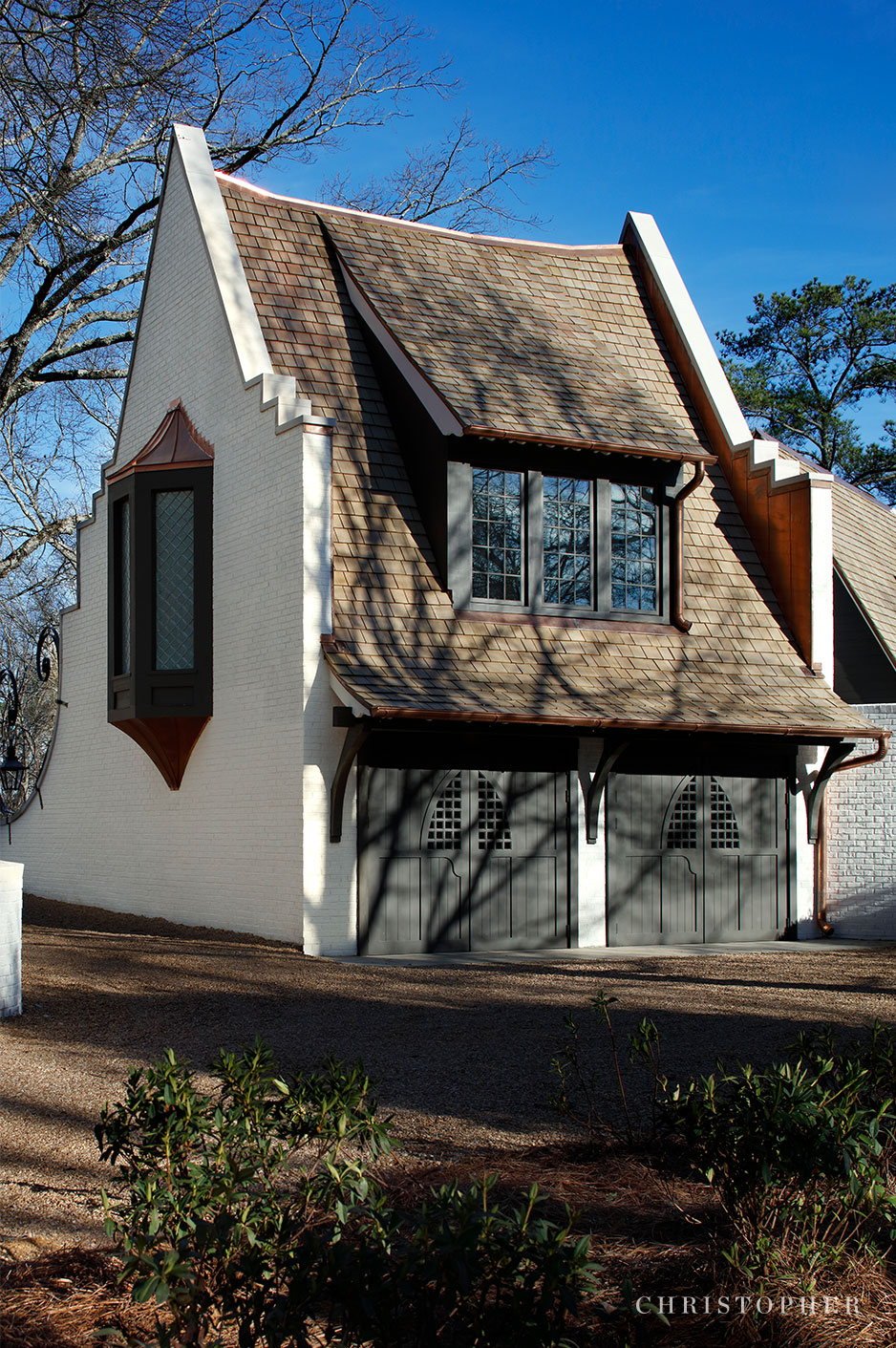 Transitional Estate - carriage house