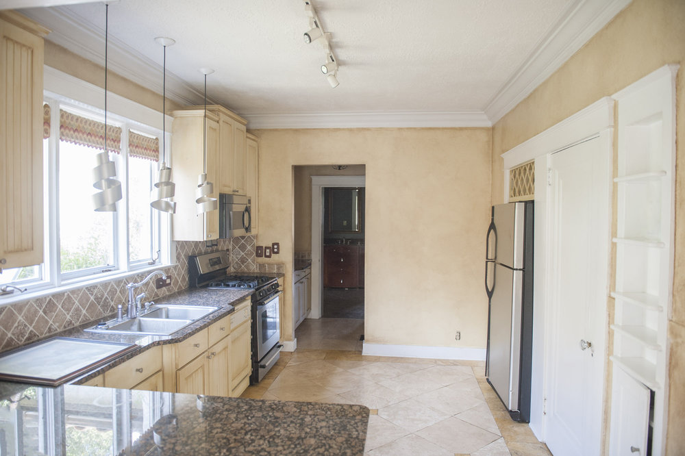 Spanish Colonial Kitchen Before