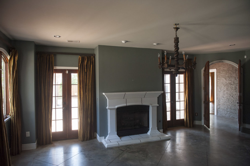 Spanish Colonial Bedroom Before
