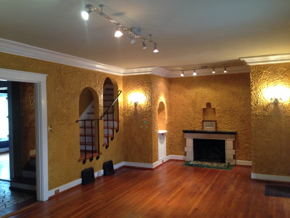 Spanish Colonial Living Room Before