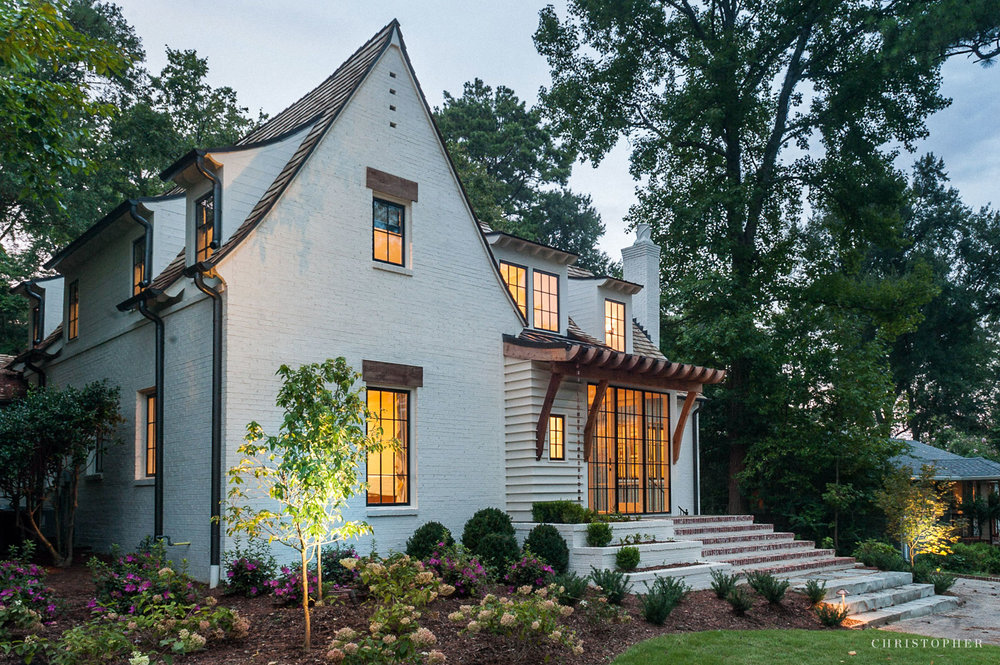 English Cottage Renovation - front elevation