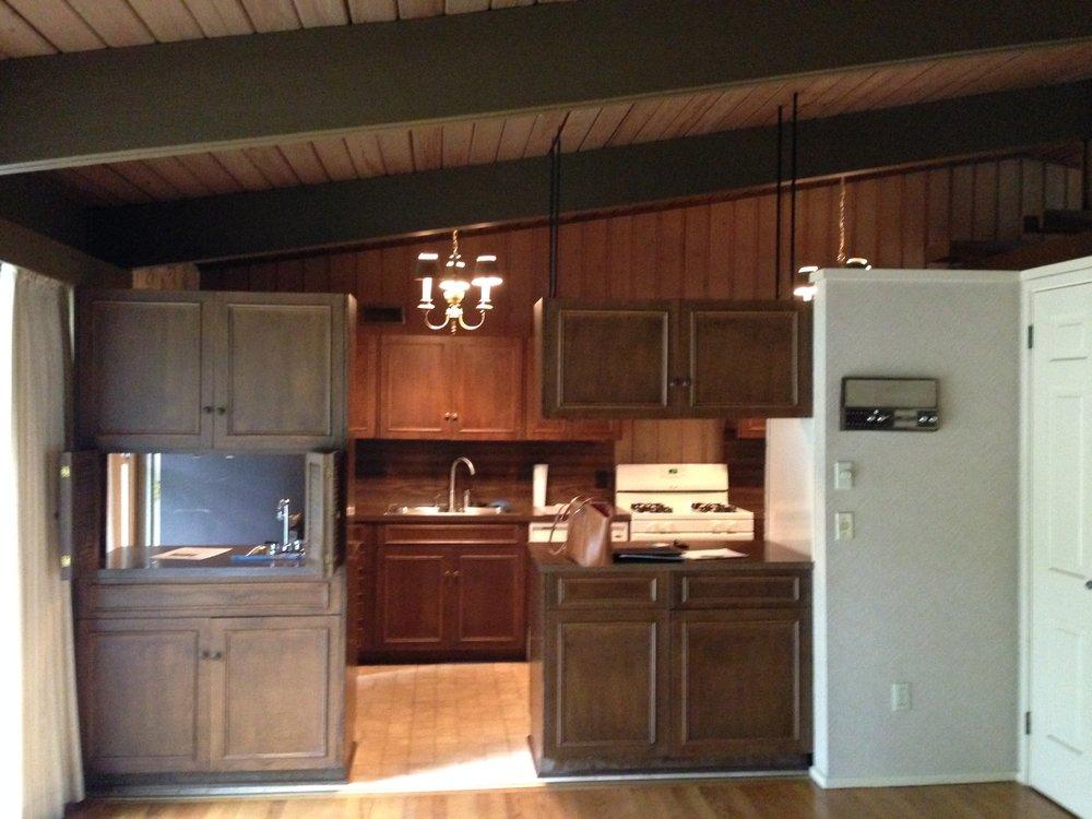 Mid Century Modern Kitchen - before