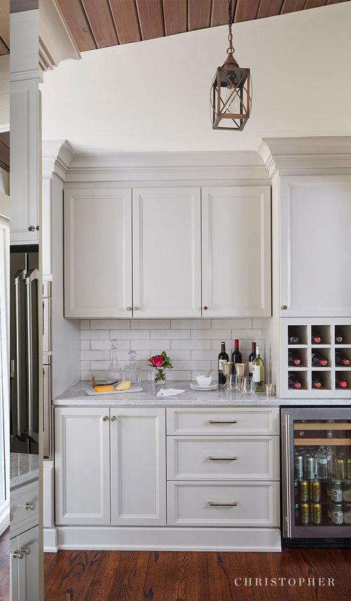 Mid Century Modern Kitchen Wet Bar