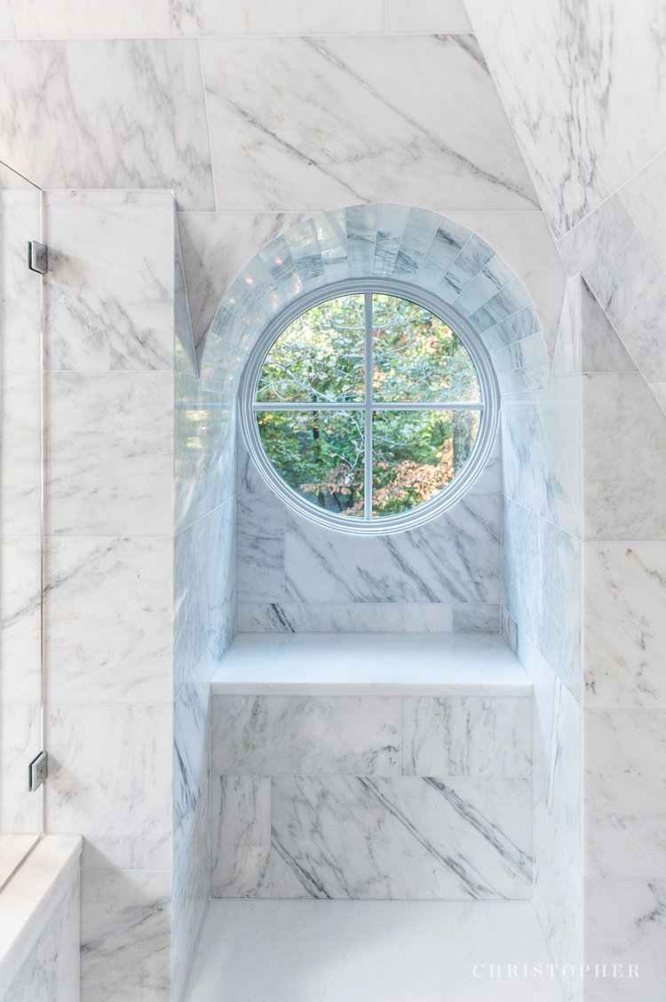 French Provenicial-Marble+Shower.jpg