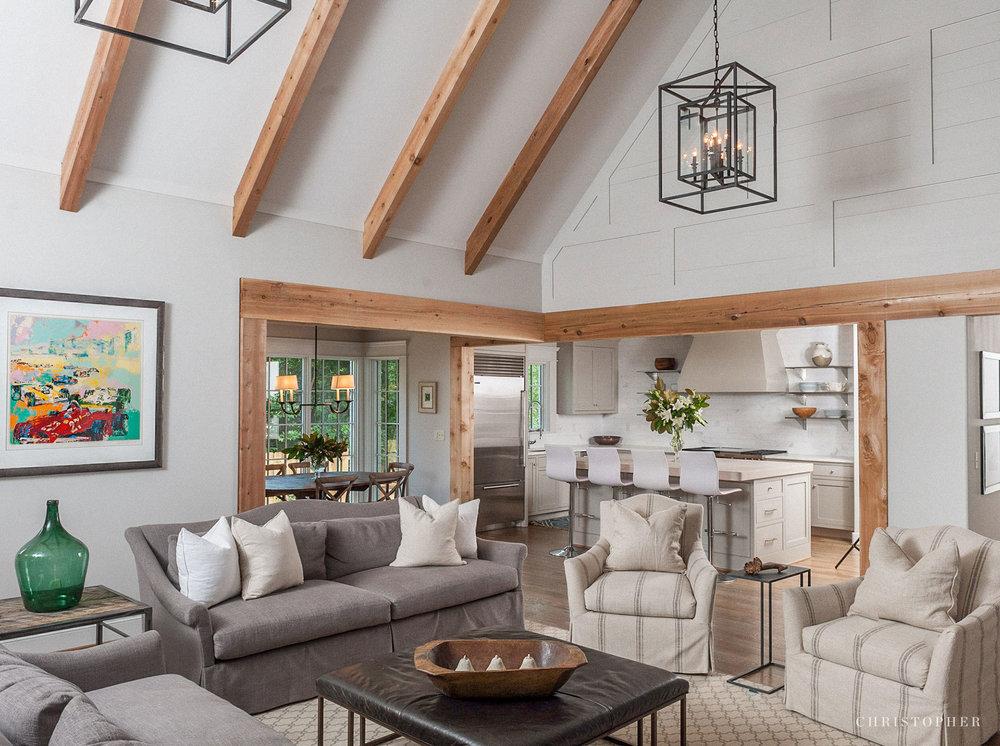 English Revival Cottage-custom interior beams.jpg