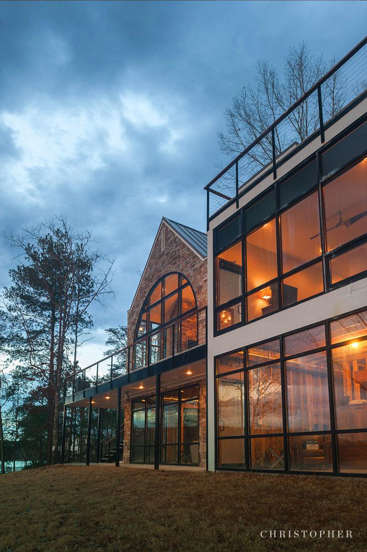Rustic Modern Lakehouse-window facade.jpg