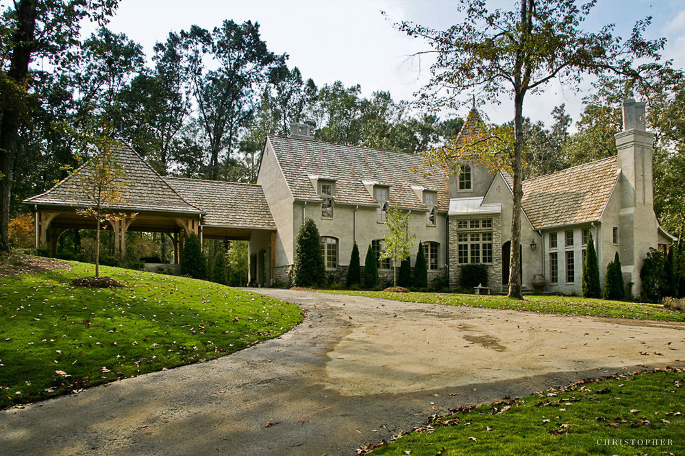 Traditional Residence-front exterior approach.jpg