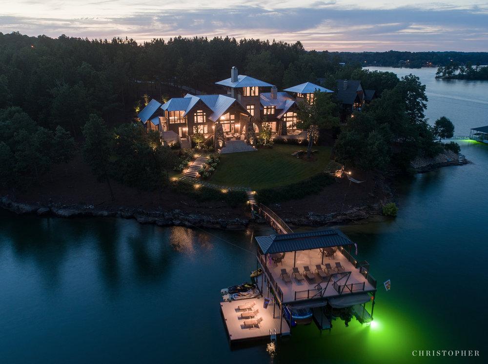 Christopher-Lakefront Retreat night view.jpg