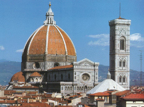 Il Duomo created by goldsmith Filippo Brunelleschi
