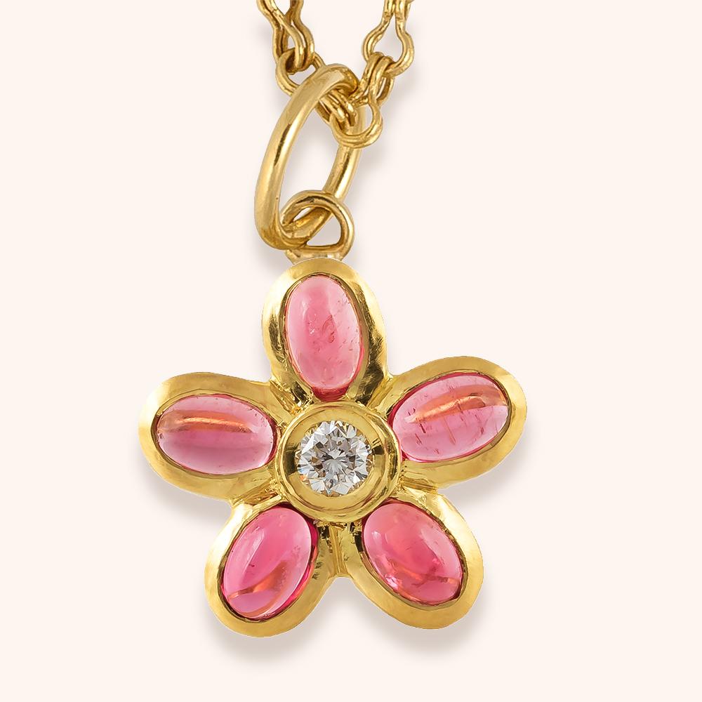 Cherry Blossom pendant-$4,500.00
