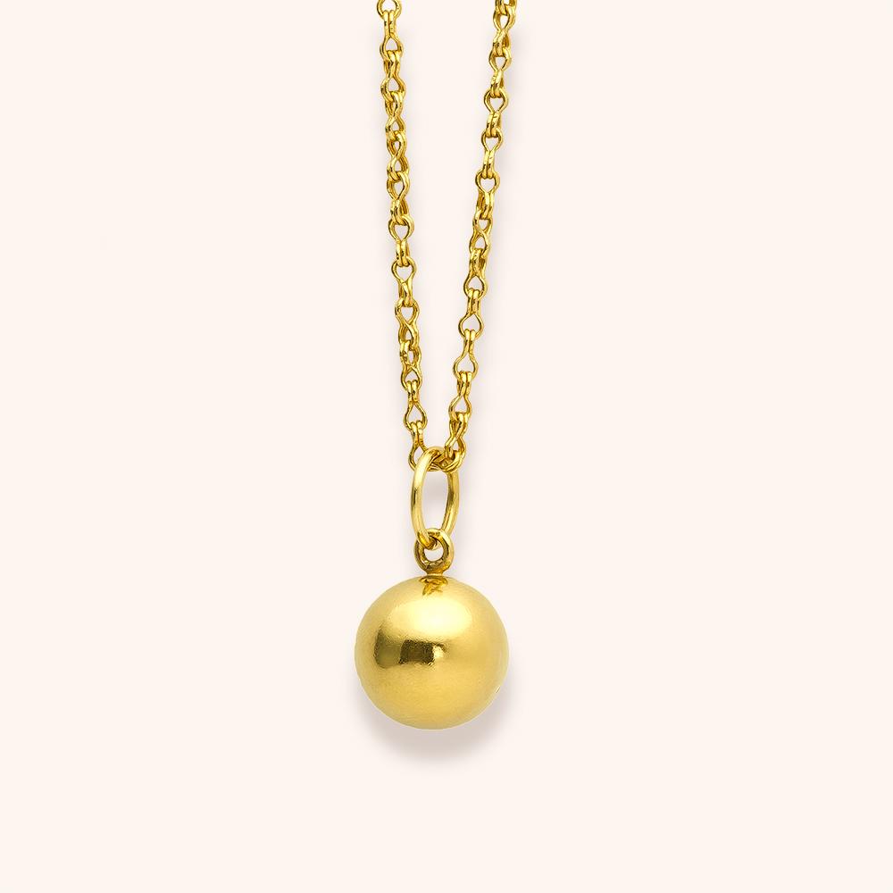 Sphere large pendant-$2,900.00