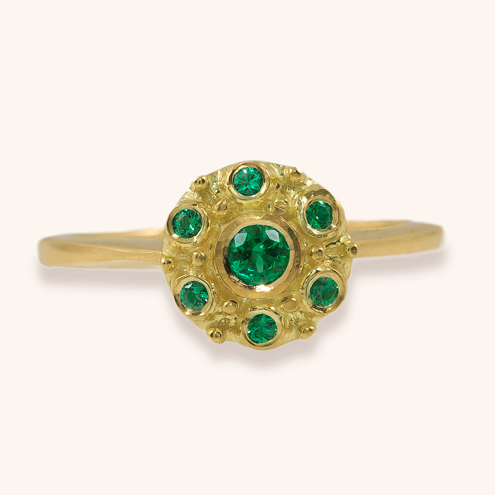 Betty emerald ring-$1,750.00