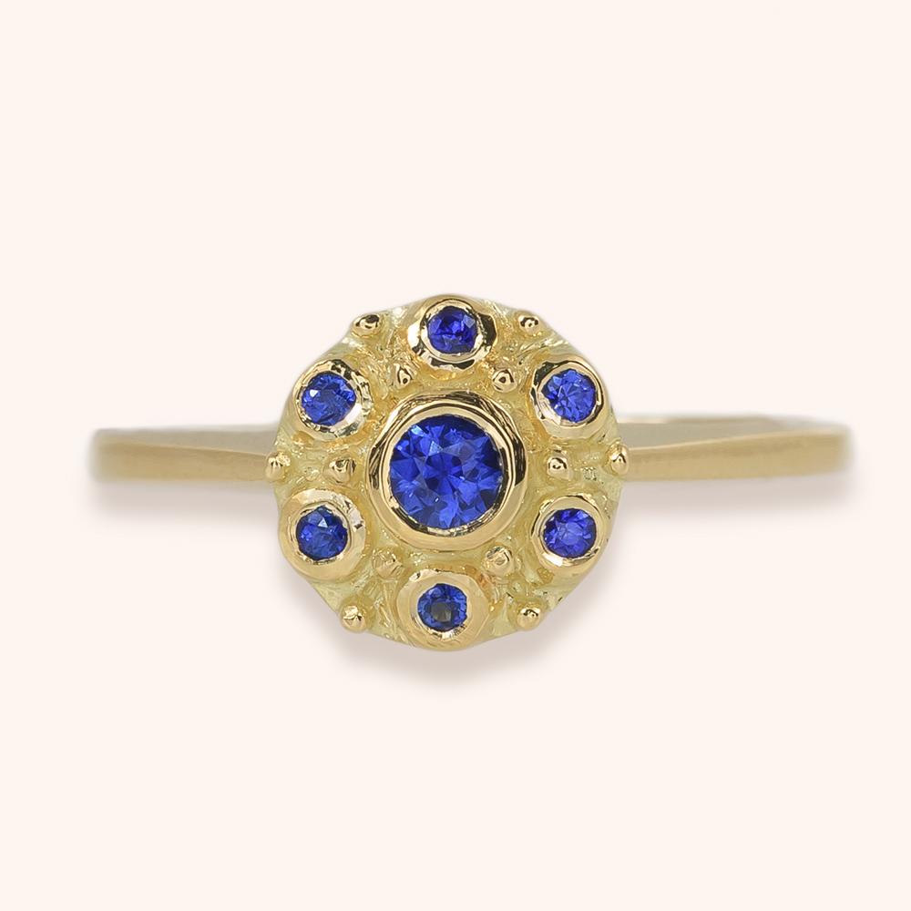 Betty sapphire ring-$1,750.00