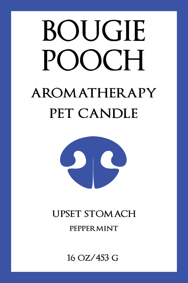 Aromatherapy Pet Product Line Label Design for The Bougie Pooch