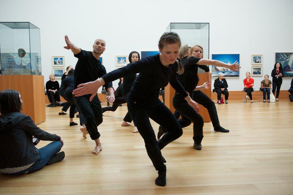 land body breath - dancers Sean Ling, Sahara Morimoto, Kate Holden, Sarah Fregeau - photo Makoto Hirata.jpg