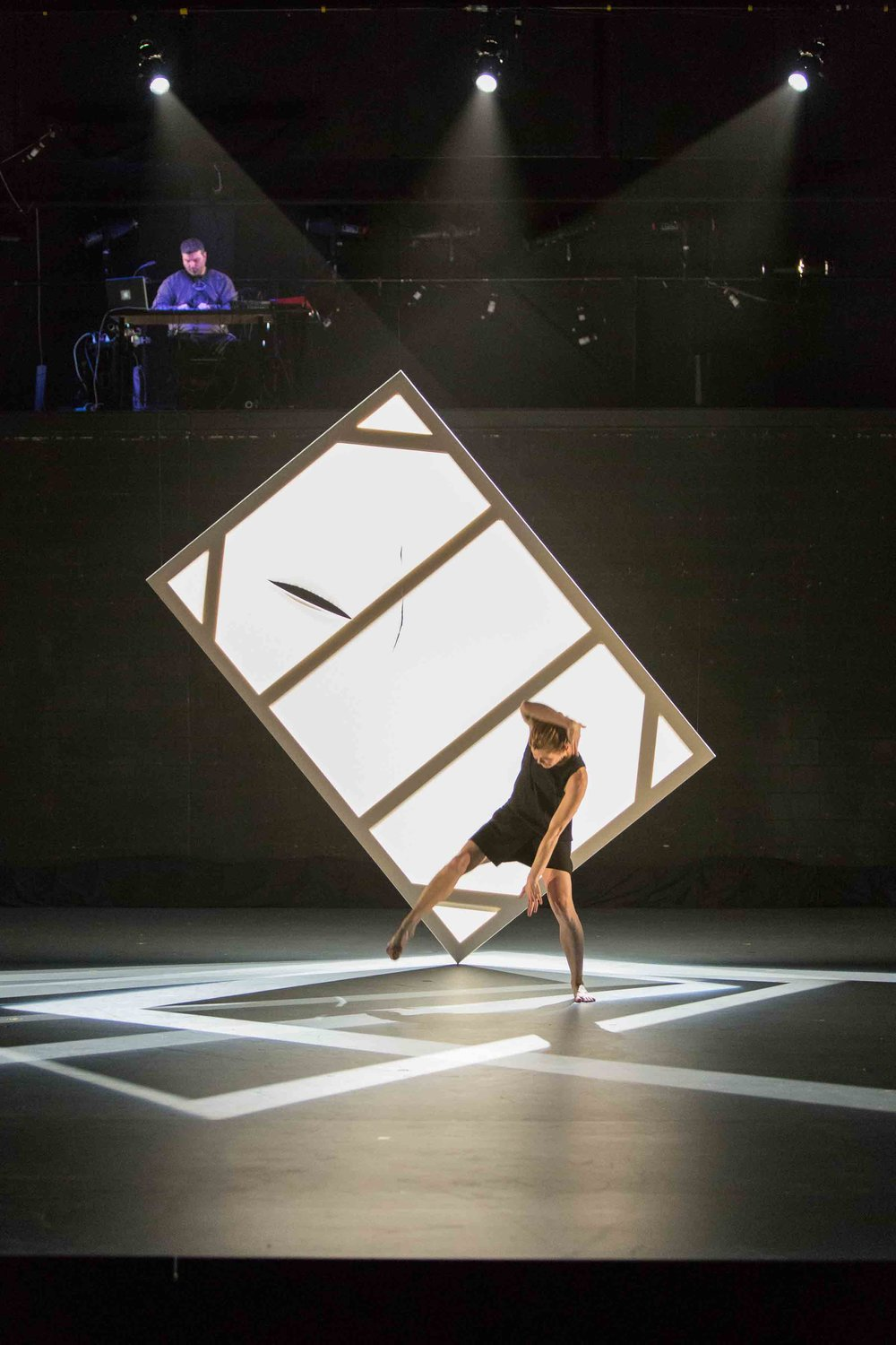 KATE HOLDEN IN PHASE SPACE. Photo by Aleksandar Antonijevic