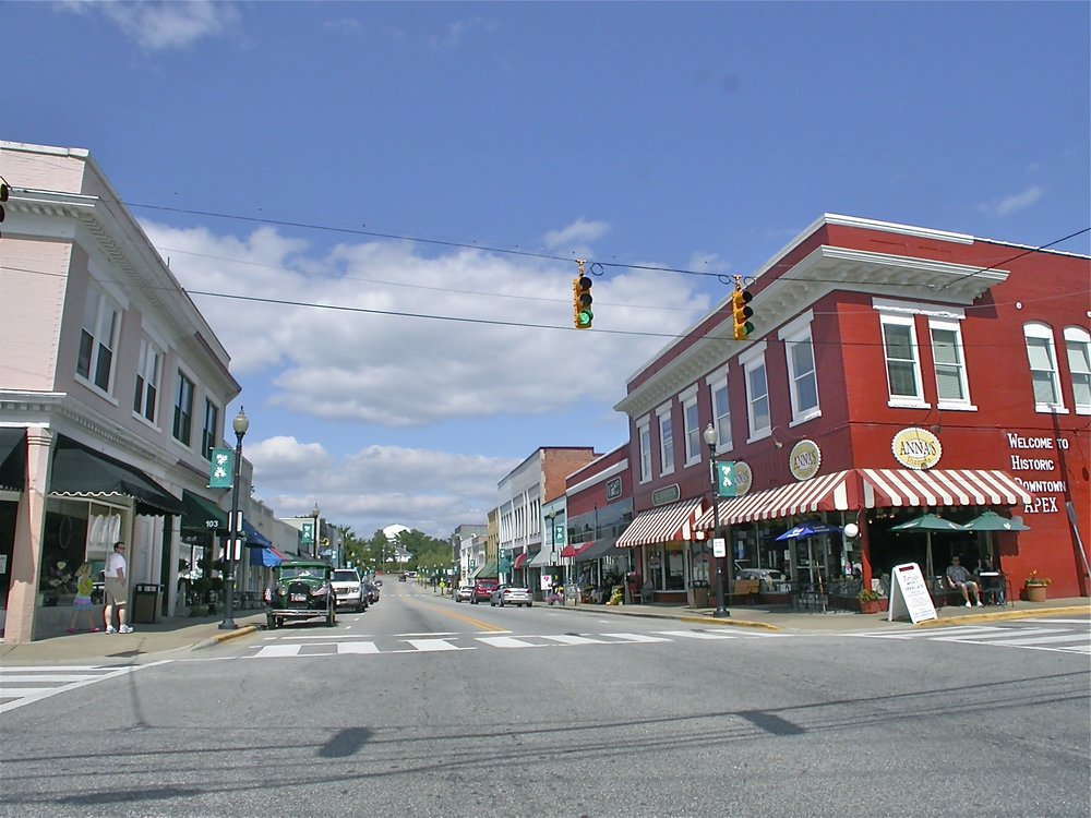 historic downtown apex