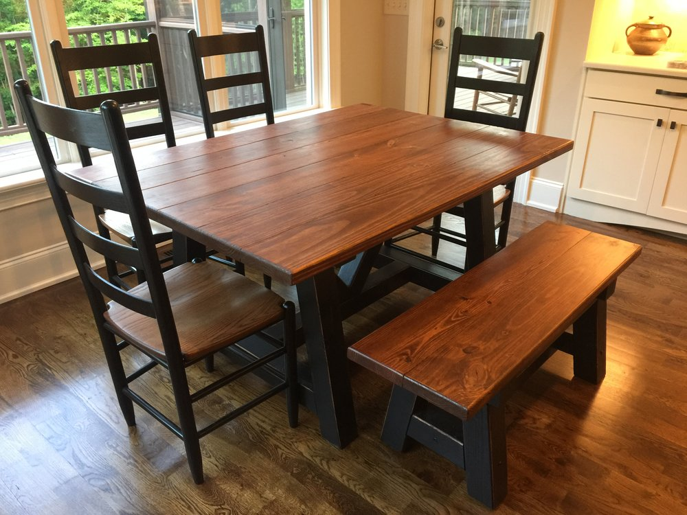 Custom-Made Farm Tables  -