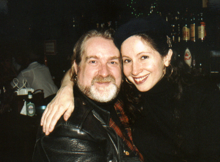 Johnny and Trisha at the Essex Hotel, New York City ~ HAPPY HOLIDAYS!
