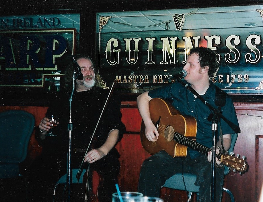 Casey and Johnny at Blarney Star, NYC