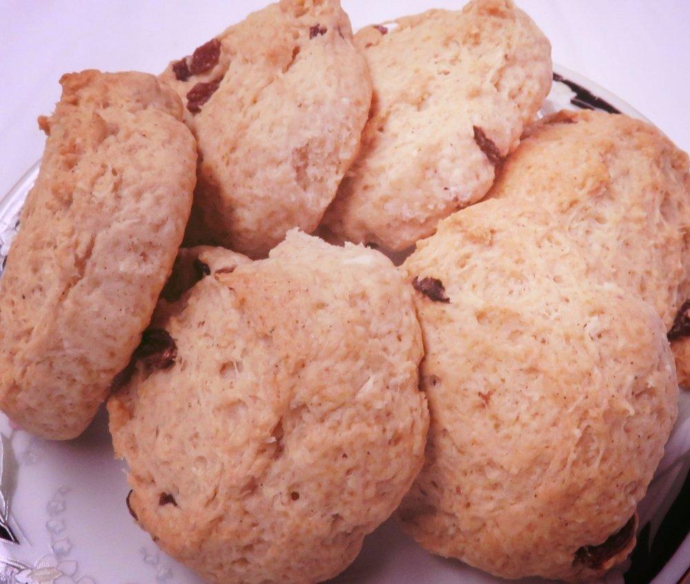 Coconut Buns - 6/pack