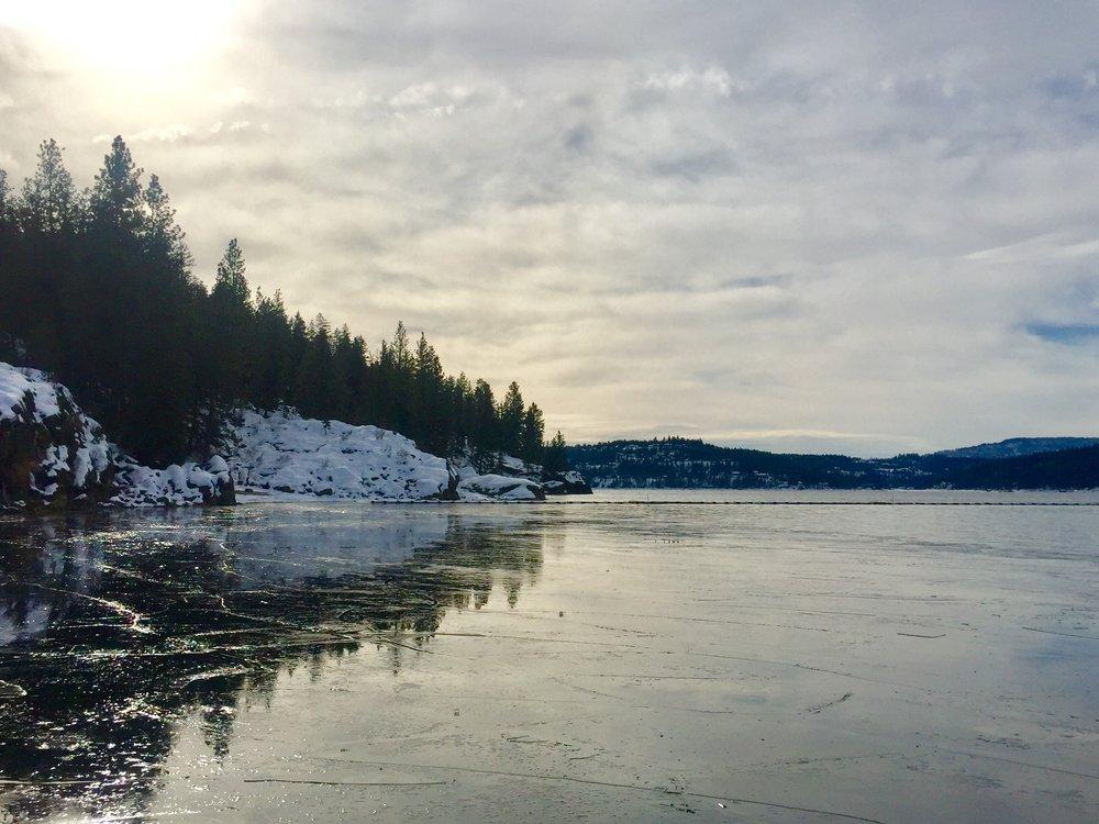 January 2017, Coeur d'Alene, Idaho -