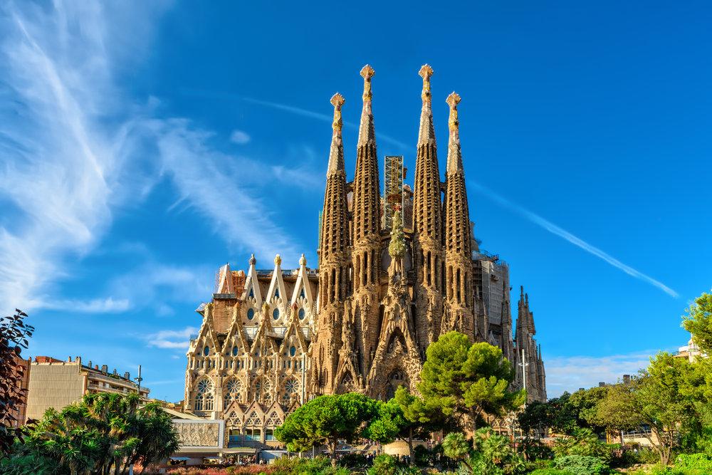 June - Barcelona, Spain -