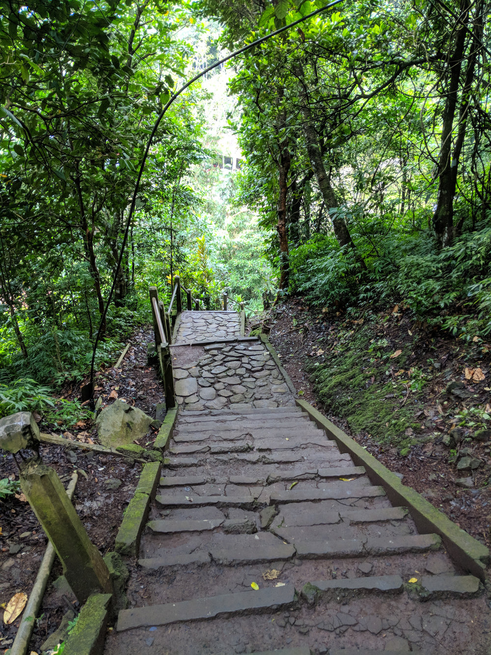 Steps to Pura Lempuyang Temple